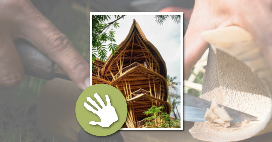 Find a natural builder: Bamboo